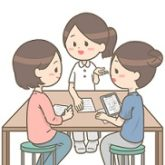 介護リーダーと会議