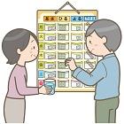 お薬カレンダーのセット